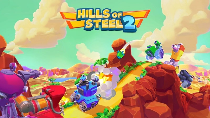 Hills of Steel 2 mobile game