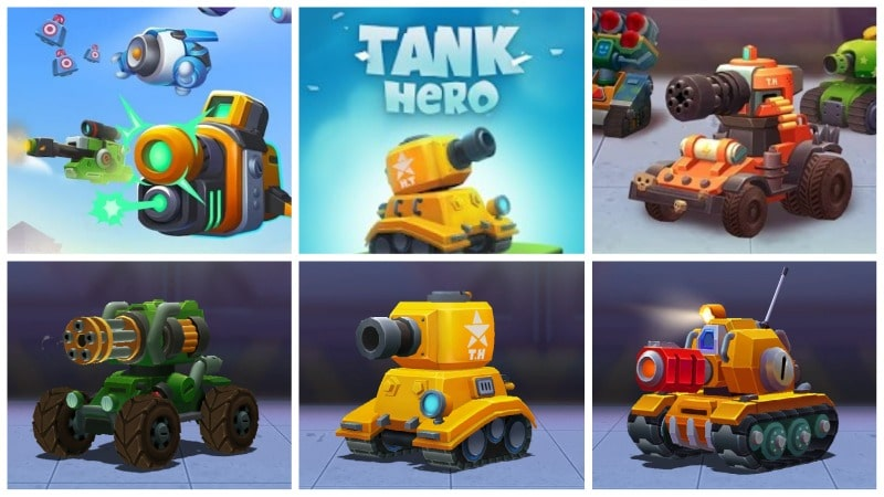 Tank Hero mobile game image