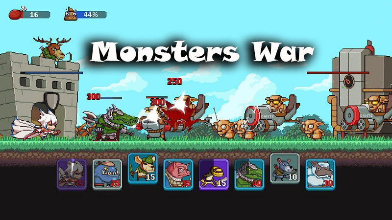 Monsters War Mobile Game